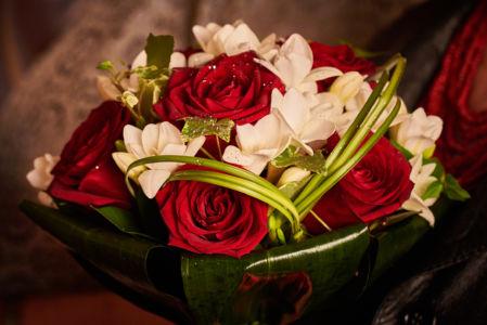 Buchet Nunta Trandafiri Rosii