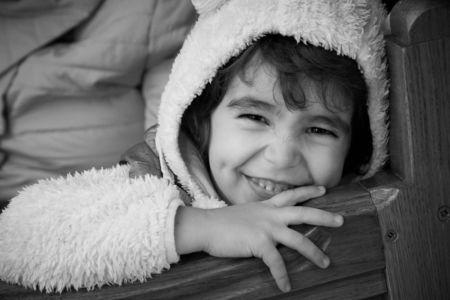 Portret de copil la un botez